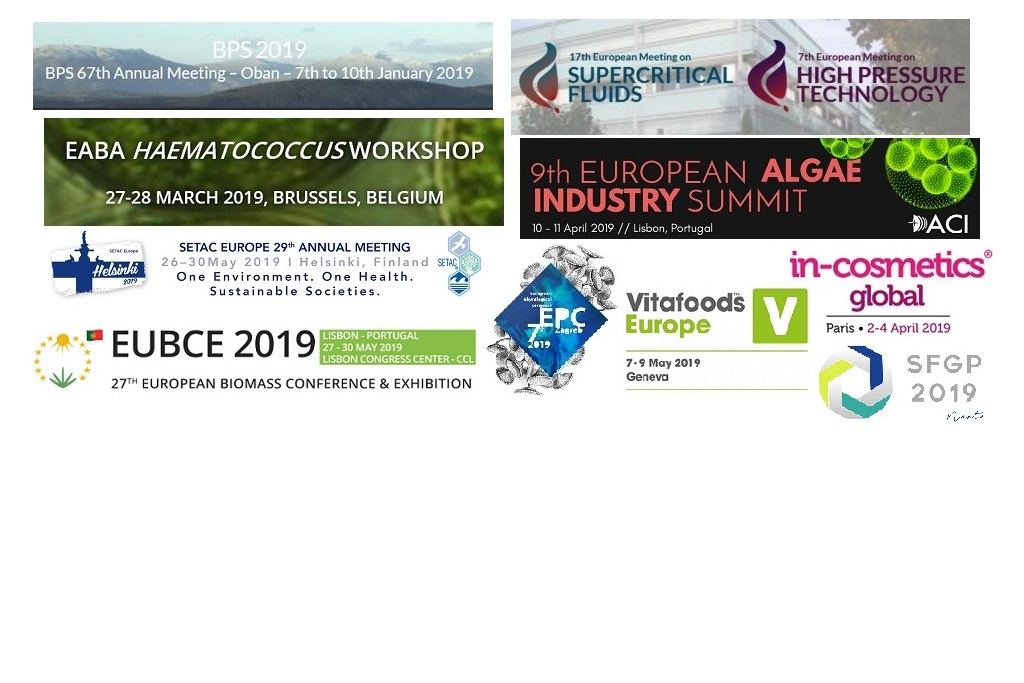 ABACUS project is already well represented for 2019 by our partners over conferences, workshops and exhibitions